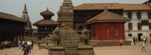 Tempel in Bhaktapur, Nepal