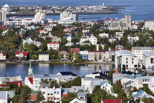 IJsland Reykjavik Stad