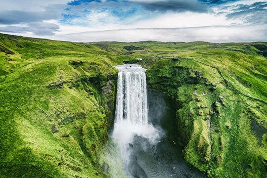 IJsland Waterval Natuur