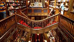 Boekhandel Livraria Lello