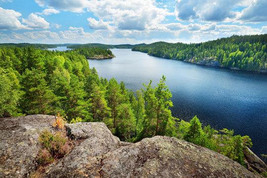Finland Lapland Natuur
