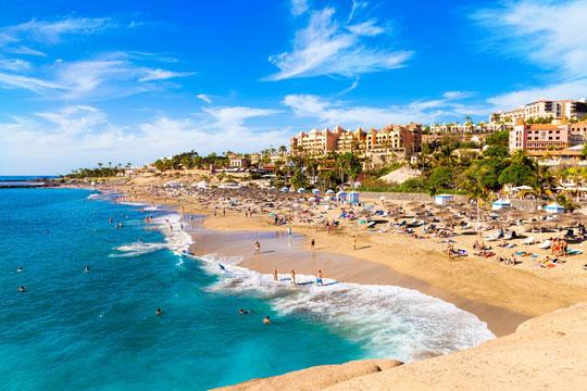Spanje Stad Strand