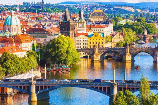 Tsjechie Praag Stad