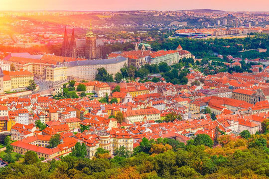 Tsjechie Stad