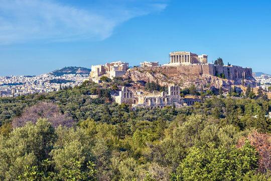 Griekenland Akropolis