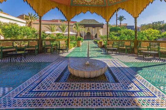 Marokko Tempel