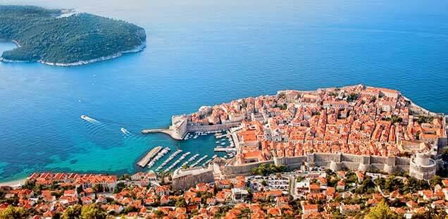 kroatie excursie