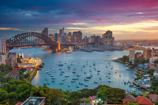 Australie Sydney Stad