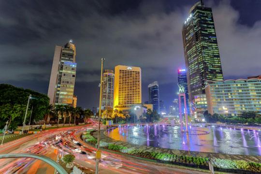 Indonesie Stad