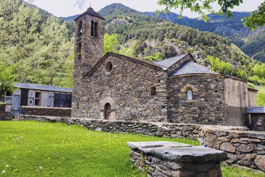 Andorra Tempel