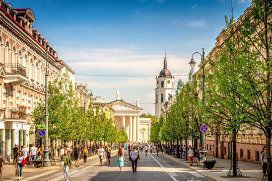 Litouwen Vilnius Stad