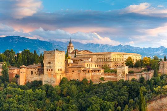 Andalusie Kasteel