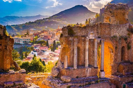 Sicilie Ruines